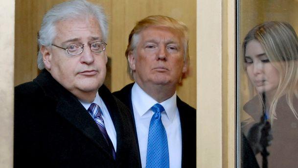 David Friedman, Donald Trump, Ivanka Trump