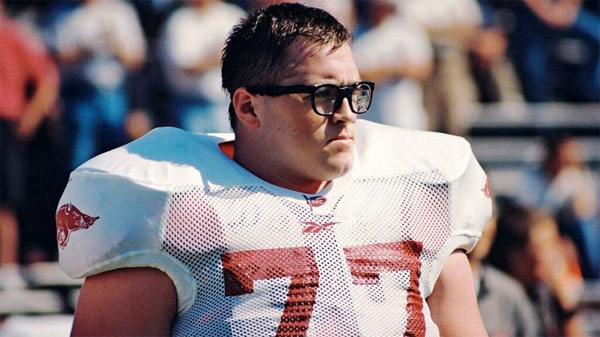 Offensive lineman Brandon Burlsworth (Photo: Marty Burlsworth)