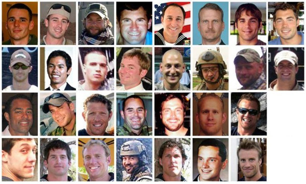 In the greatest single loss of life since the war in Afghanistan began in 2001, 30 U.S. military servicemen were killed when their CH-47 Chinook helicopter was shot down in Afghanistan