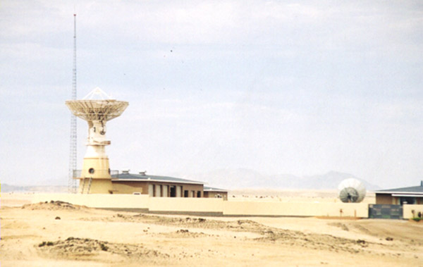 China's space tracking facility in Namibia (Photo by Anthony C. LoBaido)