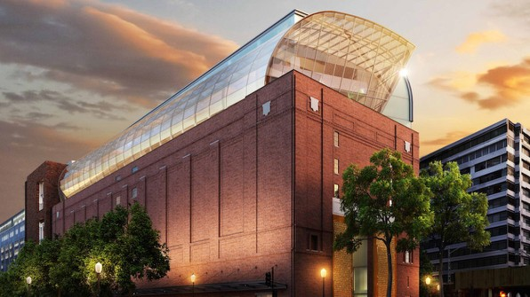 The Museum of the Bible, three blocks from Capitol Hill in Washington, D.C.