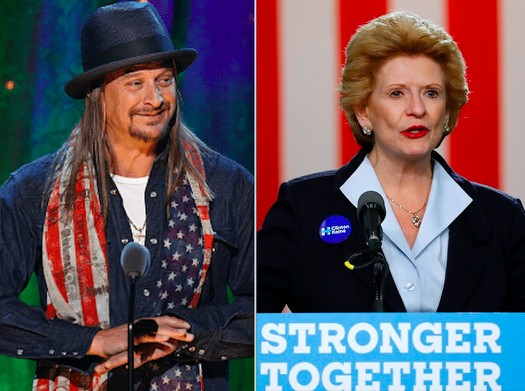 Kid Rock and Stabenow