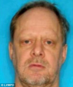 Stephen Paddock, 64, allegedly killed himself after killing 58 innocent people