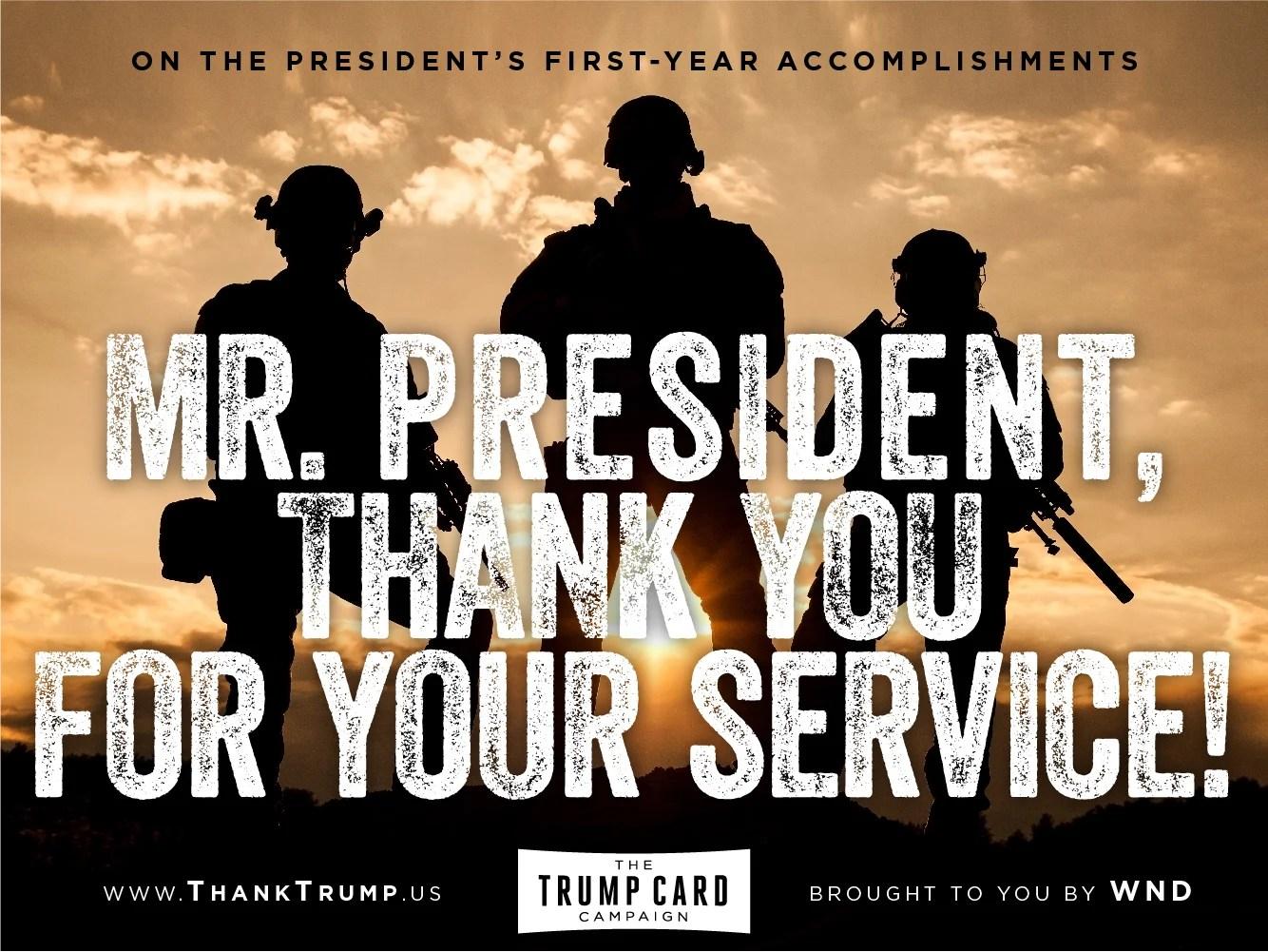Thank Trump Card #6