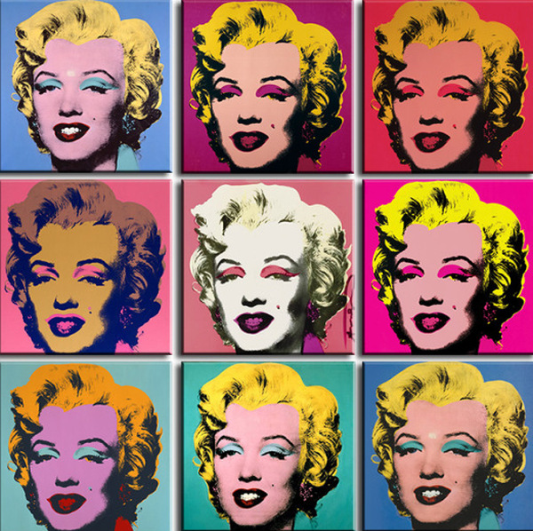 Andy Warhol silkscreen prints, possibly like the two damaged at Mr. Buzbee's home