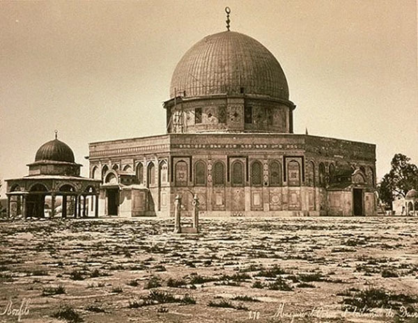 Dome of the Rock in 1875