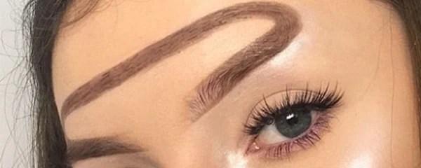 "The ""halo brow"""