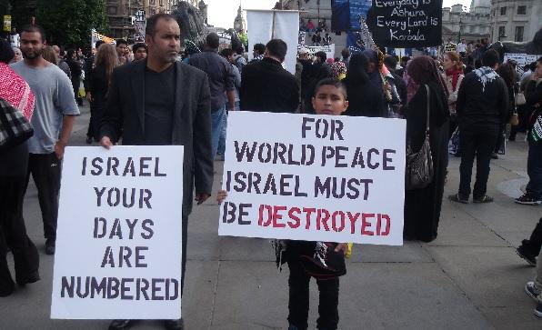 Al Quds Day, Trafalgar Square, London, 2011