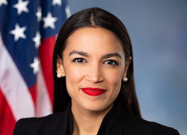 Alexandria Ocasio-Cortez (Official Portrait of the American House)