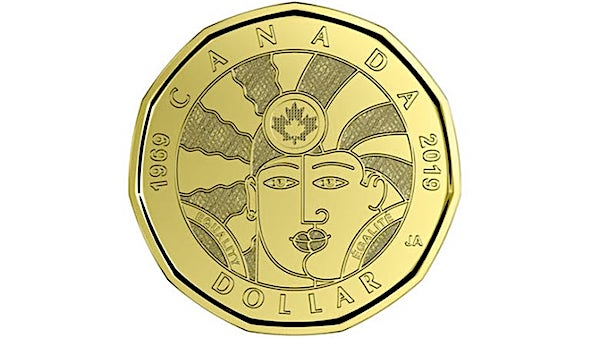 The loonie coin celebrating LGBTQ rights in Canada (Royal Canadian Mint)