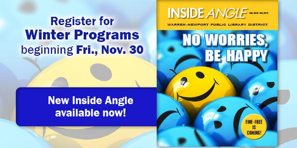 Inside Angle, winter, newsletter