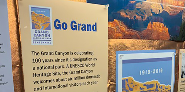 Grand Canyon, Lobby Display, Display Case, National Parks