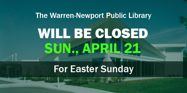 holidays, closings, Easter