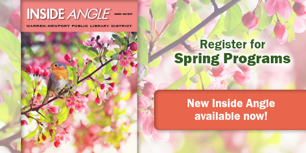 spring, Inside Angle, newsletter, programs