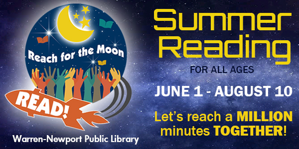 Summer Reading, Reach for the Moon, summer, reading