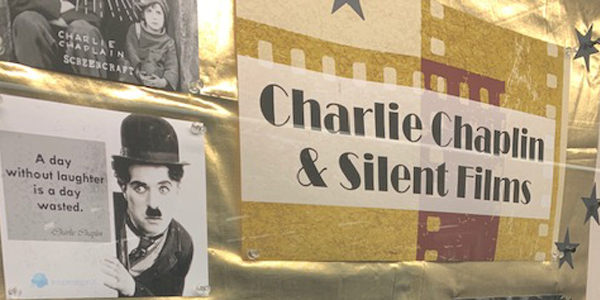 Charlie Chaplin, Silent Films, Lobby Display Case