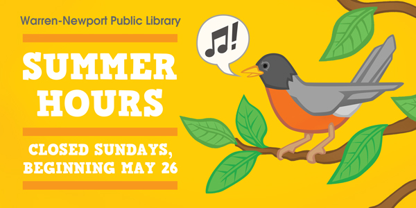 summer hours, closings, Sundays
