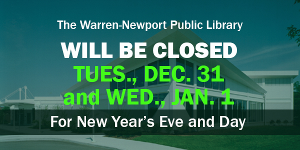 New Year, holidays closings, holidays