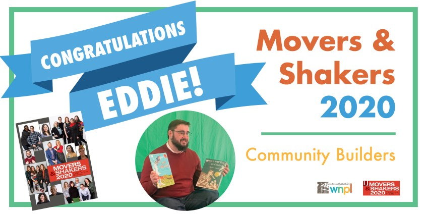 Eddie Kristan, Library Journal, Movers & Shakers, award, recognition