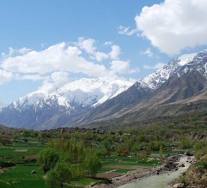 Afghanistan countryside