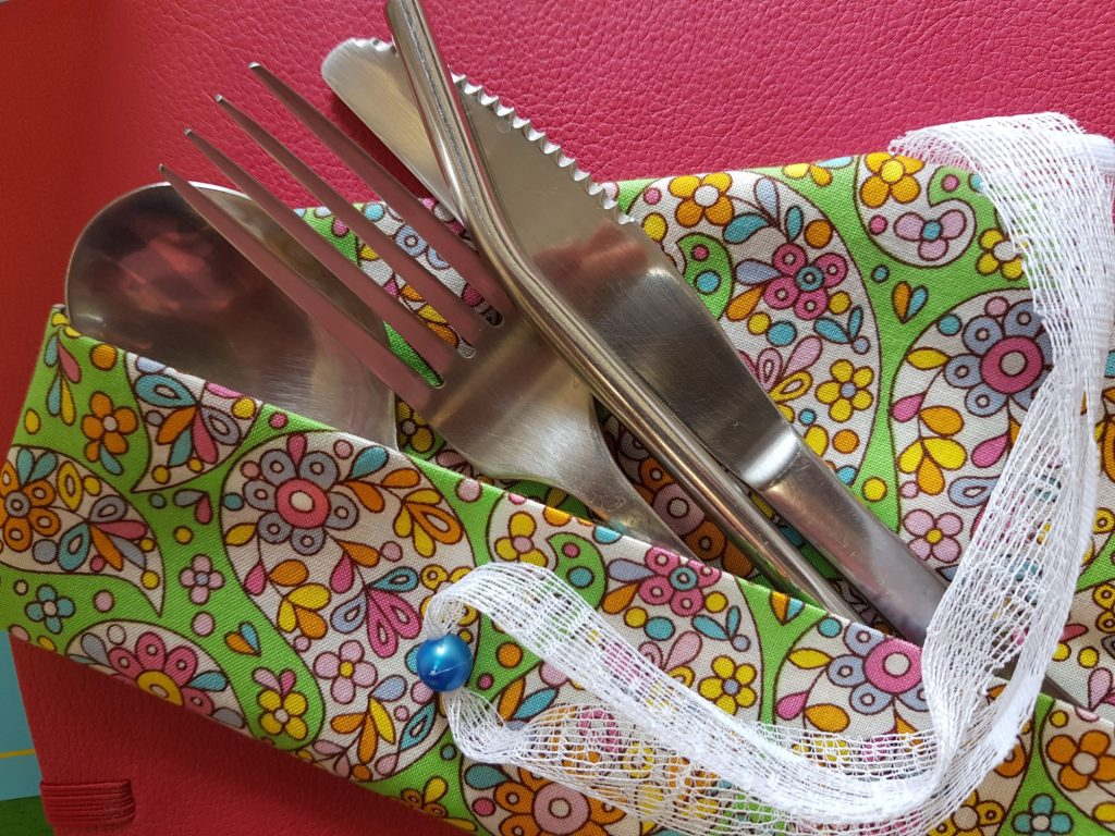 How to Make Your Own Reusable Cutlery Pouch