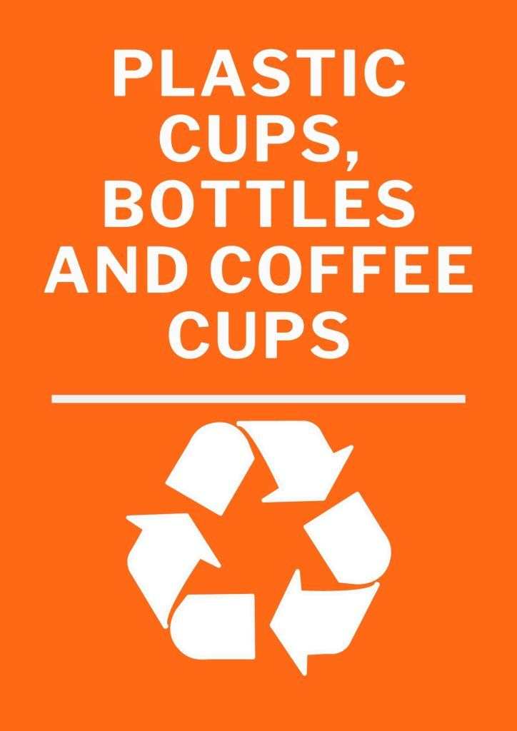 Recycling Signs for Events