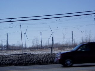 Buffalo wind farm
