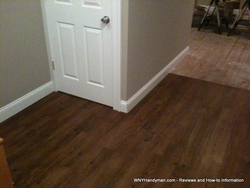 allure floor installation and review wny handyman. Black Bedroom Furniture Sets. Home Design Ideas