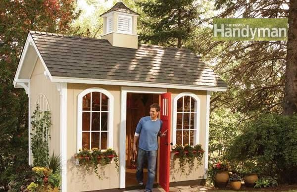 View Larger Image & How to Build a Cheap and Beautiful Storage Shed - Step by Step ...