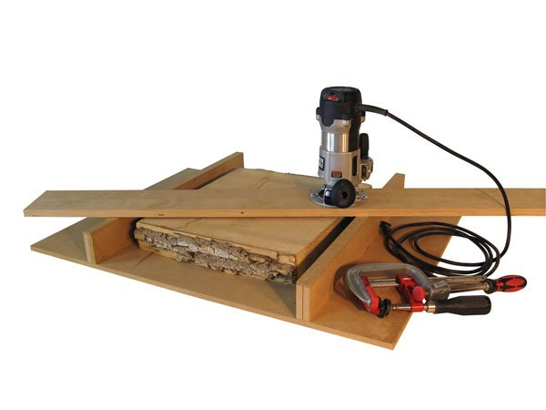 router as a planer