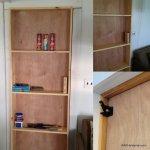 bookcase door for cottage