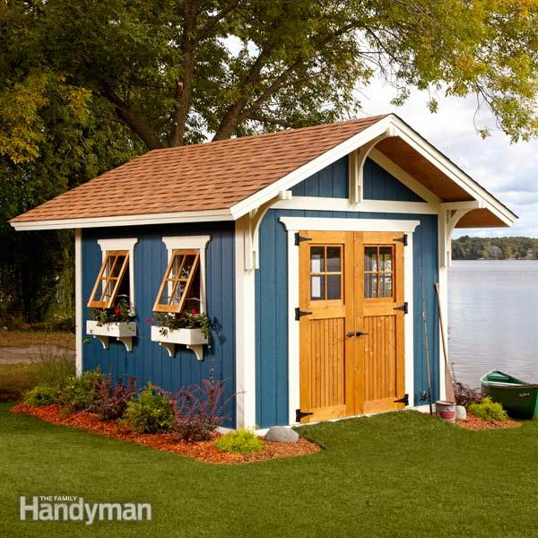 Build an amazing shed free plans from fh wny handyman for Handyman plans