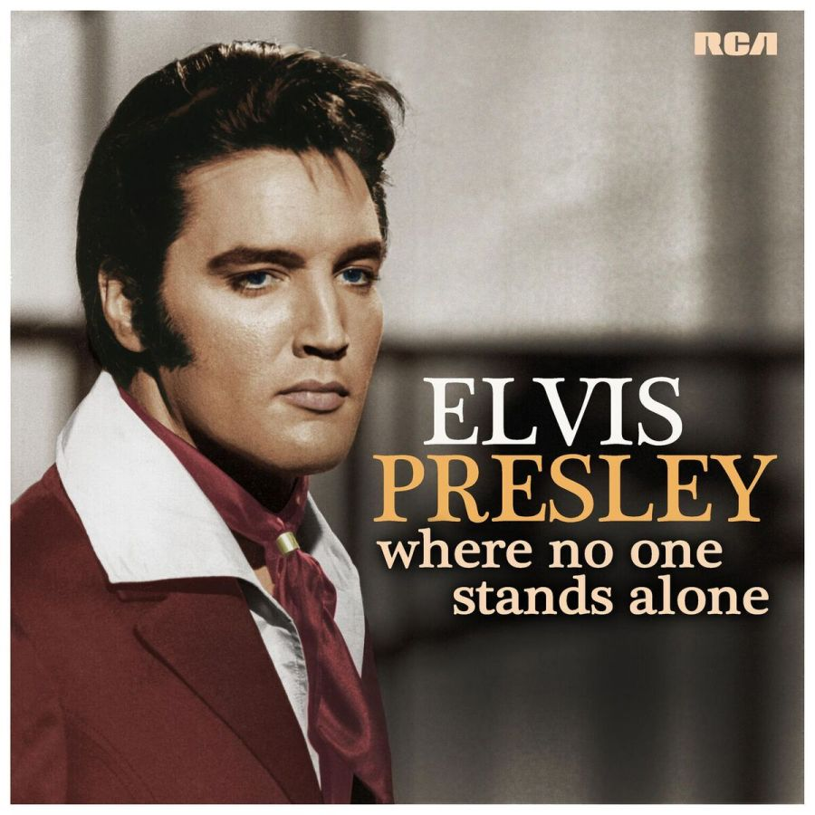 Elvis Presley, `Where No One Stands Alone.` (Image courtesy of Merge PR)