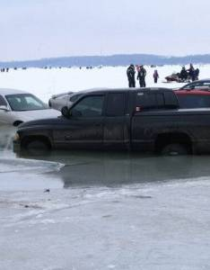 also ice fishermen relax don   push your luck rh wnypapers