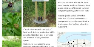 2020 Boot Brush Station Program Open