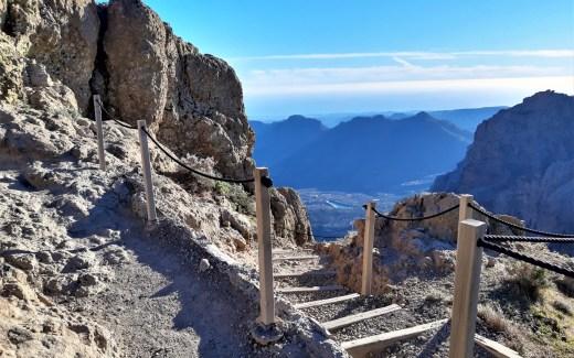 vom Pico de las Nieves