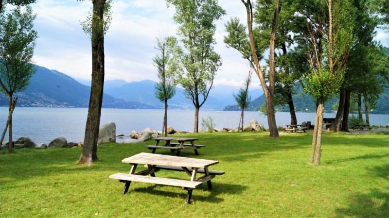 Picknick in Cannobia, am Lago Maggiore