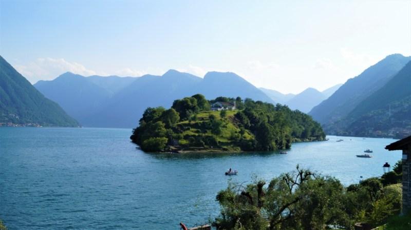 Die Isola Comacina im Lago di Como - herrlich die oberitalienische seen
