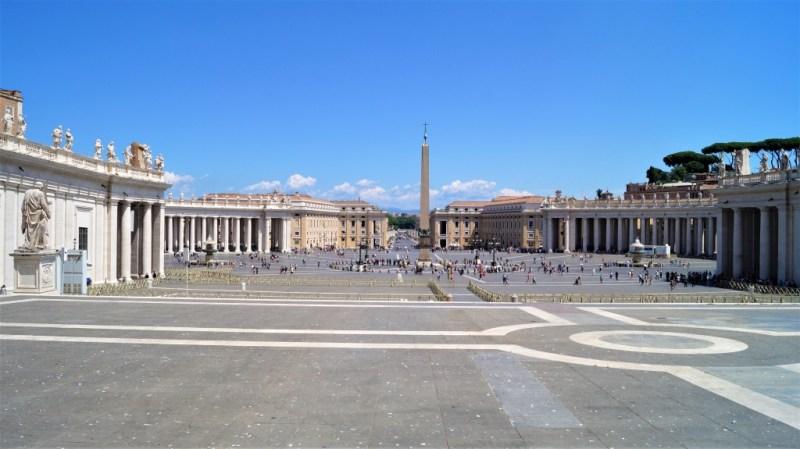 Petersplatz im Vatikanstaat