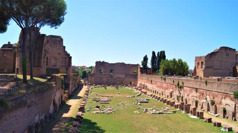 Reste des Domus Augustana im Palatin