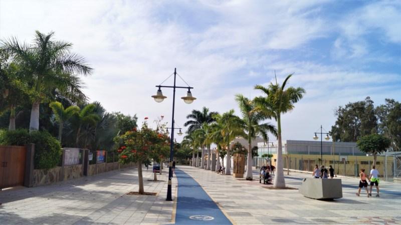 Radwege in Puerto de Mogan