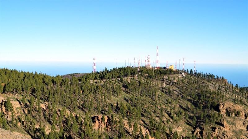 Militärgebiet auf dem Pico de las Nieves