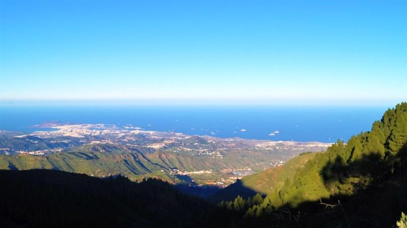Blick aufs Meer von Gran Canarias zweithöchster Erhebung
