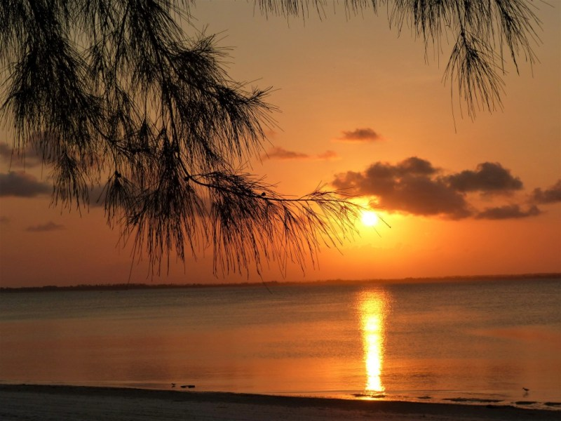 Sonnenuntergang auf der Gewürzinsel