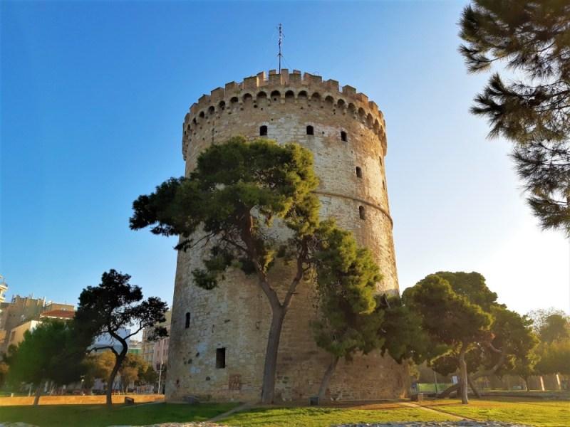 Der weiße Turm in Thessaloniki -das Wahrzeichen