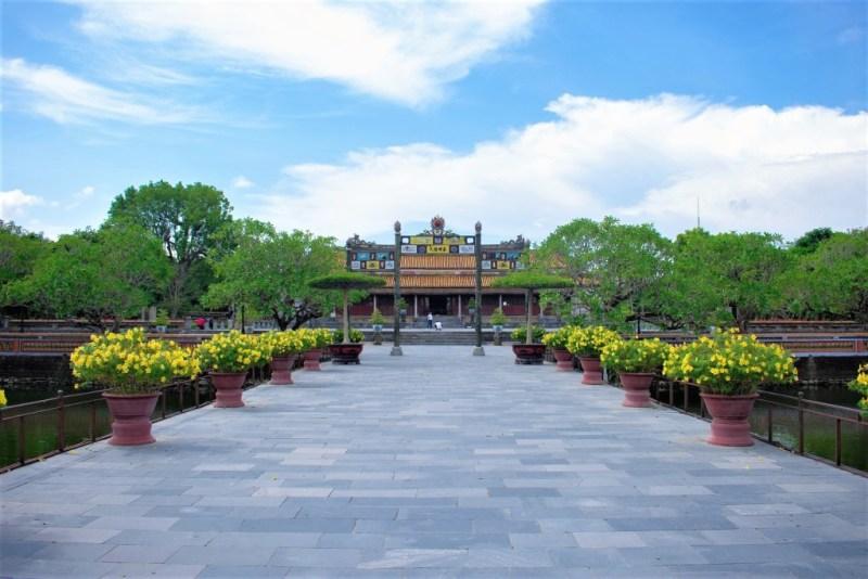 Die alte Kaiserstadt ist der verbotenen Stadt von Peking nachempfunden - Vietnam
