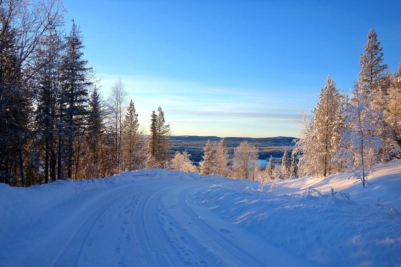 Viel Schnee in Lappland