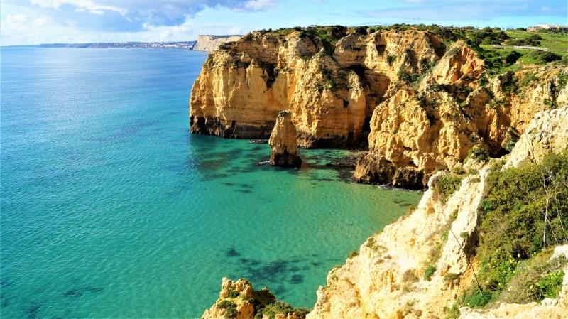 Ponte da Piedade an der Algarve