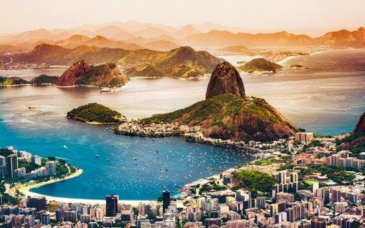 Südamerika - riesiger Kontinent von den Tropen bis zu den Gletschern