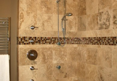 Waterfall Tile Home Design Ideas Pictures Remodel And Decor
